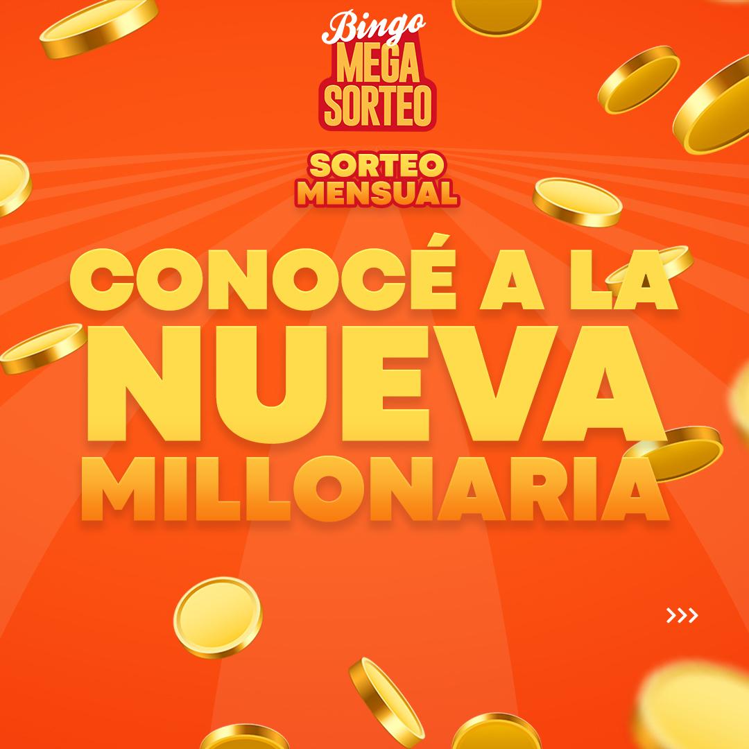 Sorteo Mensual 28/08/2021 – 23º Bingo Mega Sorteo